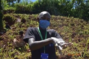 The Water Project: Emulembo Community, Gideon Spring -  Protus Ten Handwashing Steps Demonstration