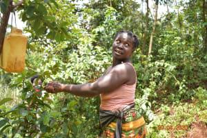 The Water Project: Shikhombero Community, Atondola Spring -  Handwashing Demonstration