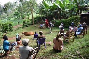 The Water Project: Ibinzo Community, Lucia Spring -  All Eyes On Trainer Chelagat