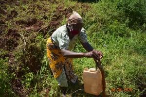The Water Project: Emulembo Community, Gideon Spring -  Handwashing Demonstratuion