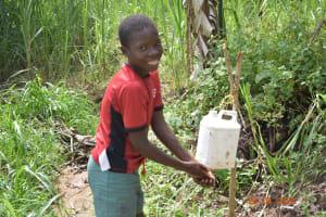 The Water Project: Emukoyani Community, Ombalasi Spring -  Handwashing