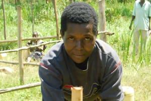 The Water Project: Sichinji Community, Kubai Spring -  Handwashing Demonstration