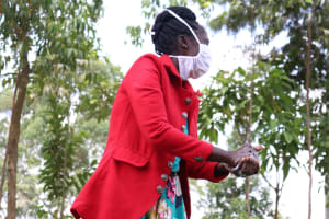 The Water Project: Asimuli Community, John Omusembi Spring -  Clean Thoroughly