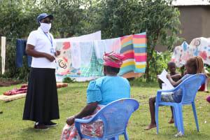 The Water Project: Elutali Community, Obati Spring -  Facilitator Leading Training