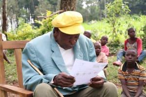 The Water Project: Sambaka Community, Sambaka Spring -  Reading Pamphlet In Local Language