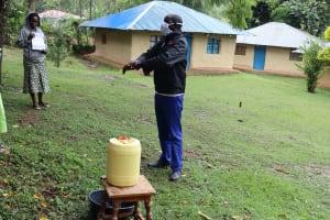 The Water Project: Mukhuyu Community, Mukwambo Spring -
