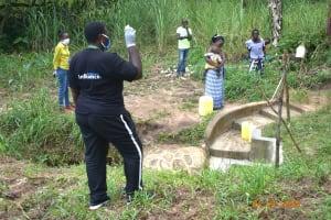 The Water Project: Emukoyani Community, Ombalasi Spring -  Team Leader Emmah Training