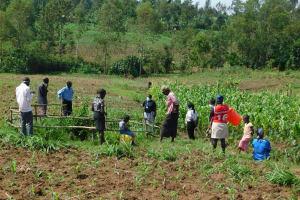 The Water Project: Eshiakhulo Community, Kweyu Spring -  Training At Kweyu Spring