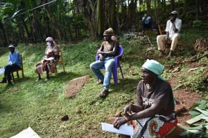 The Water Project: Ibinzo Community, Lucia Spring -  Social Distancing