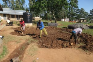 The Water Project: St. Gerald Mayuge Secondary School -  Tank Site Excavation