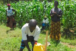 The Water Project: Sichinji Community, Kubai Spring -  Handwashing
