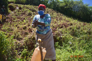The Water Project: Emulembo Community, Gideon Spring -  Handwashing Demonstration