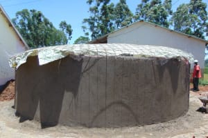 The Water Project: Jinjini Friends Primary School -  Dome Fitting