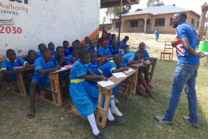 The Water Project: St. Michael Mukongolo Primary School -  Training On Life Skills