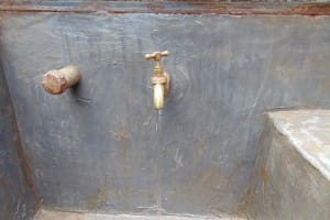 The Water Project: Gamalenga Primary School -  Water Flowing From The Tap