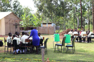 The Water Project: St. Gerald Mayuge Secondary School -  Group Work At The Training