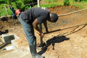 The Water Project: Shikangania Community, Abungana Spring -  Fencing