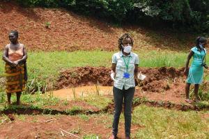 The Water Project: Shikhombero Community, Atondola Spring -  Trainer Betty At Atondola Spring