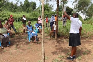 The Water Project: Shitoto Community, Abraham Spring -  Urging Greetings From A Distance
