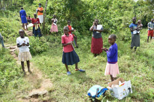 The Water Project: Mukoko Community, Mshimuli Spring -  The Young Generation Flooded The Training