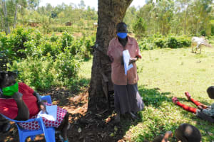 The Water Project: Mwirombi Community, Melicsadeck Spring -