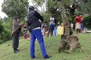 The Water Project: Ebusuvi Community, Arthur Okwemba Spring -