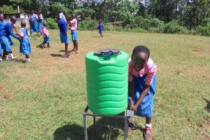 The Water Project: Kapsaoi Primary School -  Handwashing