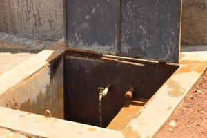 The Water Project: Jinjini Friends Primary School -  Water Flowing At The Tap