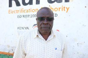 The Water Project: St. Michael Mukongolo Primary School -  Head Teacher Edward Mutende