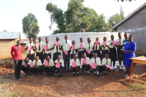 The Water Project: St. Gerald Mayuge Secondary School -  Students Pose After Training
