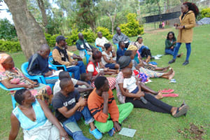 The Water Project: Shikangania Community, Abungana Spring -  Training