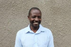 The Water Project: St. Gerald Mayuge Secondary School -  Teacher Fredrick Omondi