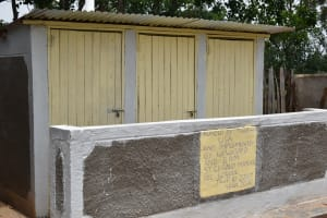 The Water Project: St. Gerald Mayuge Secondary School -  New Vip Latrines