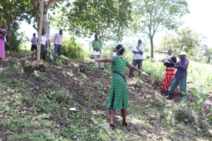 The Water Project: Ewamakhumbi Community, Yanga Spring -  Ensure You Keep A Social Distance Of At Least Two Meters