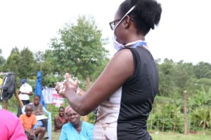 The Water Project: Elutali Community, Obati Spring -  Regular Handwashing With Soap And Water Highlighted