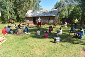 The Water Project: Munenga Community, Burudi Spring -  Training In Progress