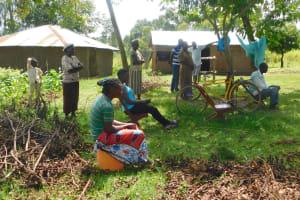 The Water Project: Ataku Community, Ngache Spring -  Training At Ngache Spring