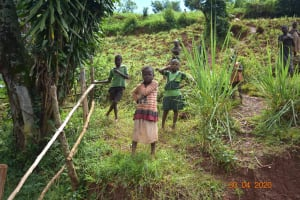 The Water Project: Emulembo Community, Gideon Spring -  Kids Attend Training