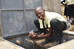 The Water Project: St. Gerald Mayuge Secondary School -  Celebrating Clean Water At The Tank