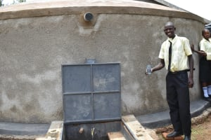 The Water Project: St. Gerald Mayuge Secondary School -  Pupil John