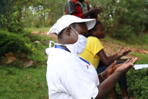 The Water Project: Itukhula Community, Lipala Spring -  Team Leader Catherine Reflects The Handwashing Demonstration