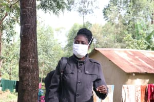 The Water Project: Lutali Community, Lukoye Spring -  Ensure You Wear A Mask Whenever You Leave Your House