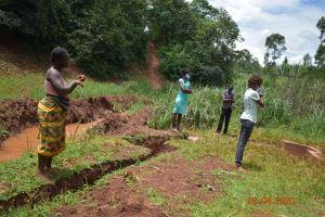 The Water Project: Shikhombero Community, Atondola Spring -  Training