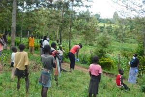 The Water Project: Eshiakhulo Community, Asman Sumba Spring -  Training At Asman Sumba Spring