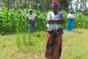 The Water Project: Sichinji Community, Kubai Spring -  Women At The Frontline Of Coronavirus Prevention