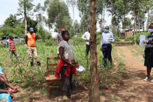 The Water Project: Shitoto Community, Abraham Spring -  Responding To The Training