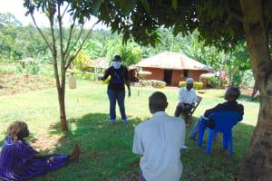 The Water Project: Visiru Community, Kitinga Spring -  Facilitator In Mask Conducting Training