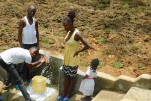 The Water Project: Shikangania Community, Abungana Spring -  Splash