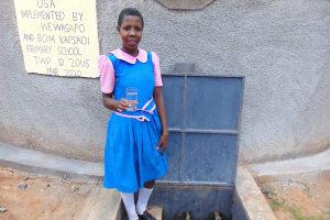 The Water Project: Kapsaoi Primary School -  Pupil Selestine
