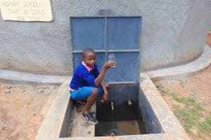 The Water Project: Kapsaoi Primary School -  Raising A Glass For Clean Water